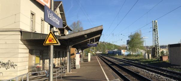 Der Bahnhof von Vallendar